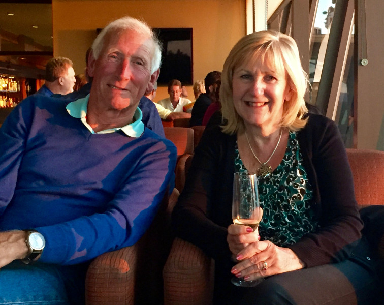 Your luxury Abel Tasman accommodation hosts, Anthea and Brian