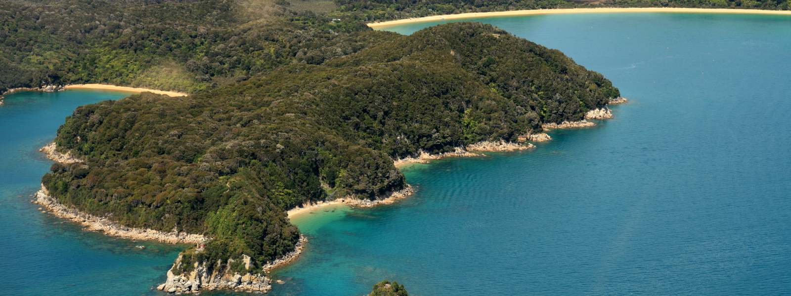 View the Abel Tasman from the air on a scenic flight or by luxury helicopter.  Thrill seekers - try parachuting.